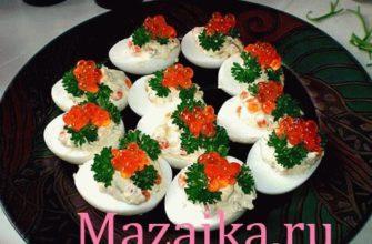 Фаршированные яйца рецепты с фото