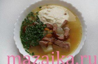 Гороховый суп рецепт с фото