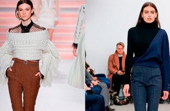 модные женские зимние брюки